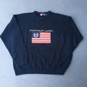 Vintage Ralph Lauren American sweater